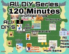 Animal Crossing Tesoro Island And Crafting 2Hours Unlimited Trips!! Free Friend!