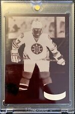 1980 1981 TOPPS Ray Bourque RC 4 Color Match Negative OPC ROOKIE Bruins COA 1/1
