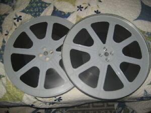 """16MM B/W SOUND 1935 NAUGHTY MARIETTA FULL FEATURE FILM ON TWO 15"""" PLASTIC REELS"""