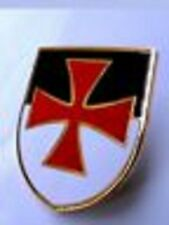 Knights Templar Knights Malta SMALL Beauseant Flag Tie pin badge enamel KT