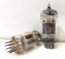 (Lot of 2) Amperex 12AX7A Vacuum Tube