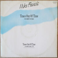 MIKE FRANCIS - Times Out Of Time 1988 ITALO DISCO Discotto 1stampa Maxi Singolo