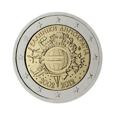 "Greece 2 Euro commemorative coin 2012 ""10 - years of Euro"" - UNC"