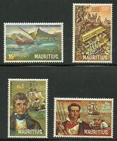 Album Treasures Mauritius Scott # 395-8 Pirates and Privateers Set Mint NH