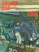 Vintage Sports Car Graphic June 1964 Cover 8 X 10 Auto Art Print