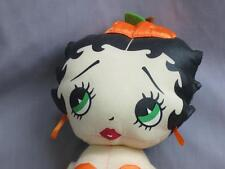 BIG BETTY BOOP PUMPKIN COSTUME CORSET TOP SEXY PLUSH STUFFED DOLL HALLOWEEN TOY