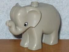 Lego Elefant hellgrau aus 7418 Ersatzteile Ohr Kopf Schwanz Rüssel