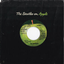 """The Beatles -The Long And Winding Road / For You Blue- 7"""" 45 Apple Records """