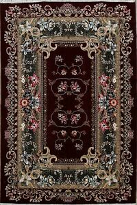 Floral Art Deco Turkish Oriental Area Rug For Living Room Classic Carpet 7x10