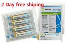 Advion Roach / Roach Killer Bait Gel 4 Tubes + Free Tips & Plunger