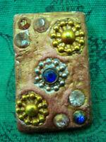 Phra Somdej Toh Wat Phra Kaew Gem Talisman Antique Jewel Buddha Thai Amulet