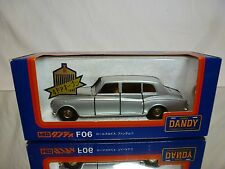 DANDY TOMICA F06 ROLLS ROYCE PHANTOM VI - SILVER 1:43 RARE - EXCELLENT IN BOX