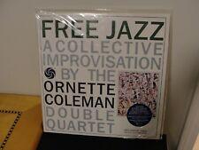 Ornette Coleman Double Quartet - Free Jazz - 45RPM 2LP - SEALED - ORG