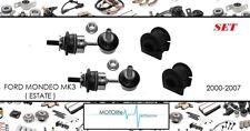 FORD MONDEO 01-07 250mm cent2cent arrière drop link rod x2