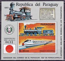 Paraguay - Block 176 postfrisch / MNH ** # Muster / Specimen (E907)