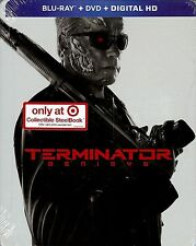 Terminator: Genisys 2-Disc Limited Edition SteelBook Blu-ray/DVD digital hd