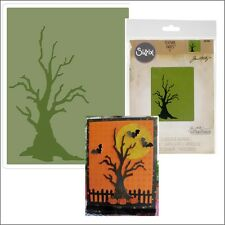 Sizzix embossing folders - Branch Tree Tim Holtz folder 661406 spooky Halloween