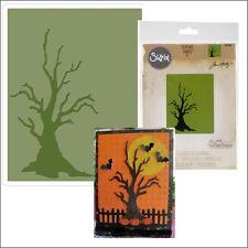 Sizzix embossing folders - Branch Tree Tim Holtz folder 661406 spooky Halloween