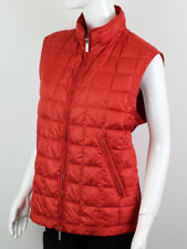 MONCLER WOMEN'S RED QUILTED VEST JACKET SIZE 3