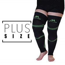 5XL Mojo Compression Stockings Plus Size Extra Wide Support Thigh Leg Sleeve ...