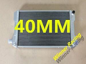 DUAL CORE RADIATOR fits MG MIDGET 1500 MT 1976-1980 1977 1978 1979