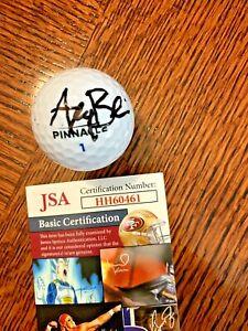 AKSHAY BHATIA  SAFEWAY OPEN SIGNED GOLF BALL AUTO JSA COA # 2
