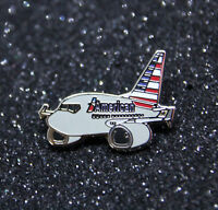 Pin CHUBBY pudgy AMERICAN AIRLINES Boeing B737 1 inch / 27mm metal Pin