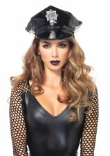 Leg Avenue Women's Police Hat Costume Accessory Black One Size
