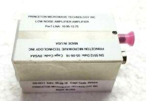 PRINCETON ku tape low-noise Amplifier PmT-LNA-10.95-12.75