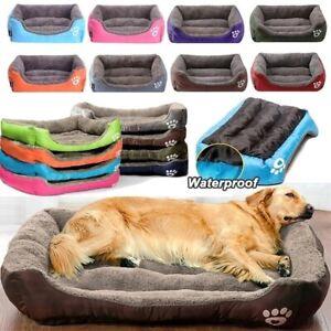 Cat & Dog Nesting Bed 8Colors Warm Cozy Dog House Soft Fleece (S-3XL)