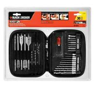 Black & Decker Quick Connect 30-Piece Drilling and Screwdriving Set  #71-973