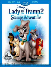 Lady and the Tramp 2 Scamp's Adventure Disney Sequel Blu-ray DVD & Digital Copy