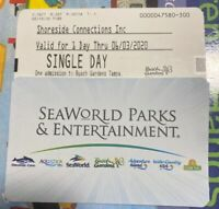 1 Entrance Admission Visit Day Pass Busch Gardens Tampa tickets (Youth Only)