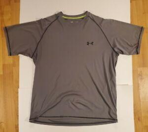 Men's Under Armour Heat Gear Loose Fit T-Shirt Gray. (238)