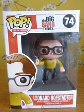 Funko Pop! TV 74 Leonard Hofstadter Star Trek Outfit Rare Big Bang Theory Vinyl