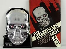 Terminator 2 Skull Metal Print Lootcrate Exclusive Lootcrate Guns n Roses Plaque
