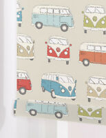 STANDARD Zoo Animals MULTI Made To Measure Patterned Roller Blinds BLACKOUT