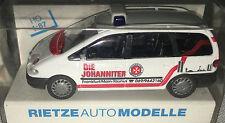 """Rietze 50744-FORD GALAXY """"la Johann iter Frankfurt/Main"""", h0, 1:87 NUOVO + OVP"""