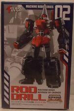 Action Toys Go Bots Machine Robo Revenge Of Cronos Series MR-02 Rod Drill (MISB)