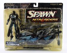 Spawn Nitro Riders- Spawn : Flashpoint Ultra Action Figure with Bike