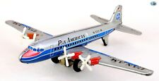 Vintage 1950 Japan Momoya Shoten Pan American 'PAN AM' N-568 Friction Airplane
