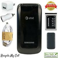UNLOCKED Samsung SGH-A157 (AT&T) 3G GSM Flip Phone Worldwide T-Mobile Cricket ✔️