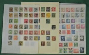 SWEDEN STAMPS SELECTION  ON 6 ALBUM PAGES     (R192)