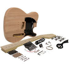 DIY Classic Traditional Electric Guitar Kit - Unfinished Luthier Project Kit