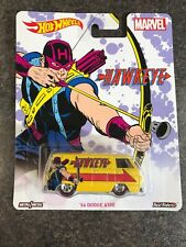 2016 Hot Wheels C Case Pop Culture Marvel Hawkeye '66 Dodge A100 Real Riders