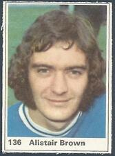MARSHALL CAVENDISH TOP TEAMS 1971- #136-LEICESTER CITY-ALISTAIR BROWN
