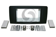 MERCEDES BENZ R Class 2006-UP Radio Dash Kit 2DIN RUBBERIZED BLACK KT-MB003RB