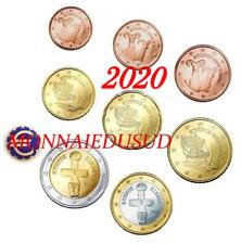 Série 1 Cent à 2 Euro Chypre 2020 - Série UNC