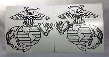 "1 SET USMC/CUSTOM ORDER Vinyl Decal Sticker 4"" Inches"