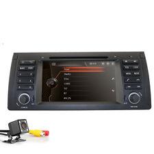 Car Stereo Radio DVD GPS Bluetooth DVR SWC Sat Nav for BMW 5 Series E39 X5 E53 E